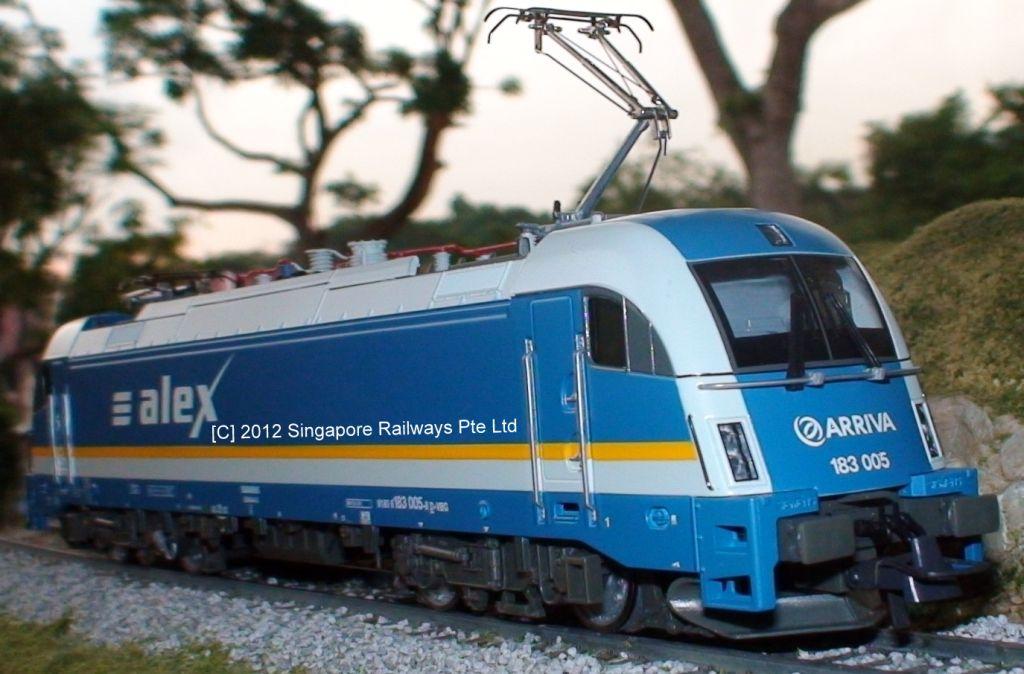Singapore Railways Pte Ltd || Model Trains || Garden Trains